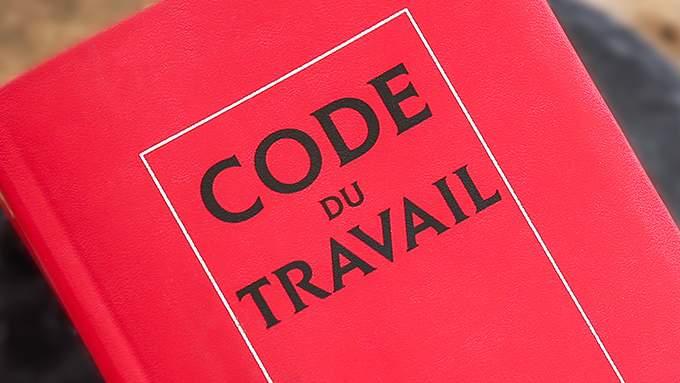 Couverture du Code du travail