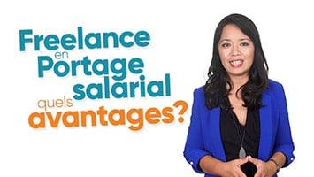 Femme présentant les avantages du Freelance en Portage salarial