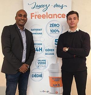 Abid Macky, directeur régional Sud-Ouest du groupe Prium. Alexandre Chamand, ingénieur d'affaires régional Sud-Ouest du groupe Prium.
