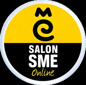 Macaron du logo Salon virtuel SME Online