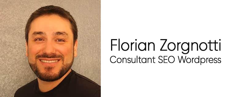 Photo portrait de Florian Zorgnotti, consultant SEO WordPress