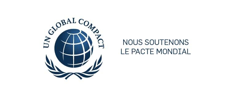 Nous soutenons le Pacte mondial