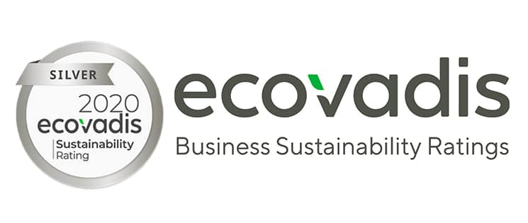 Logo ECOVADIS, certification RSE