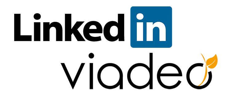 Logos LinkedIn et Viadeo