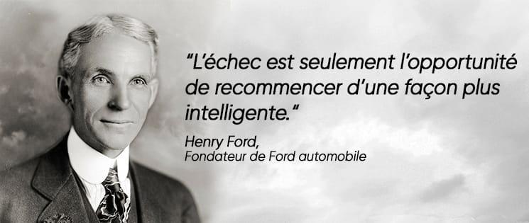 Citation de Henry Ford