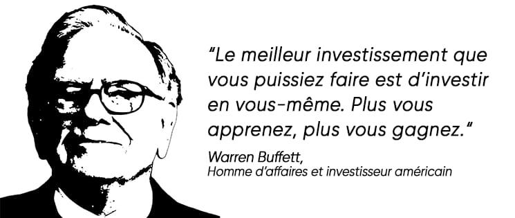 Citation de Warren Buffett