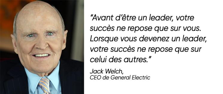 Citation de Jack Welch