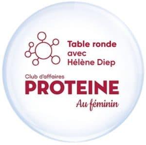 Table ronde organisée par le Club d'affaires Protéïne au Fénimin avec la participation d'Hélène Diep