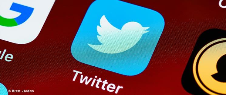 Logo de l'application Twitter