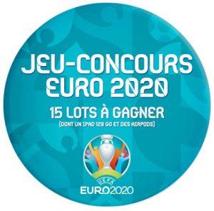 Jeu concours Prium Group EURO 2020. 15 lots à gagner dont un iPad 128 Go et des AirPods