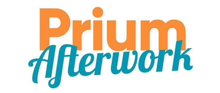 """Logo des soirées """"Prium Afterwork"""""""